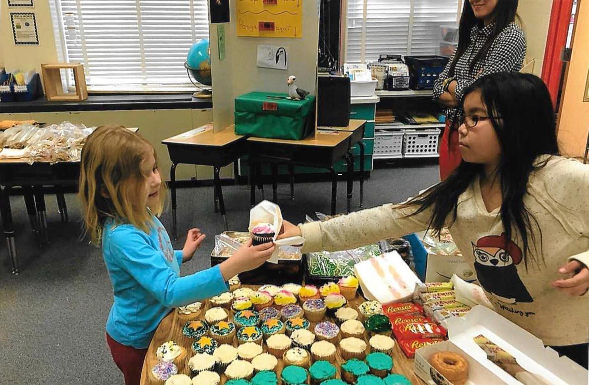 Barrett Elementary bake sale