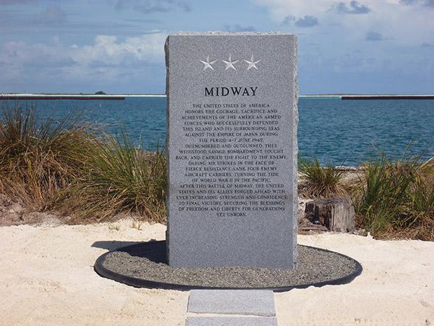 New World War II Memorial Marker
