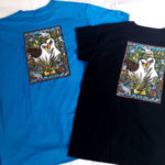 Midway Atoll t-shirt back, with full-color print by Hawai'i artist Caren Loebel-Fried