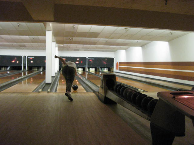 Bowling on Midway