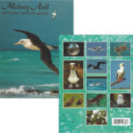 Midway postcard set, featuring wildlife photographs by Pete Leary